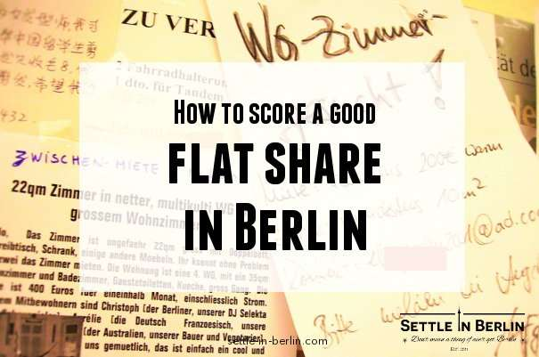 flat share in berlin
