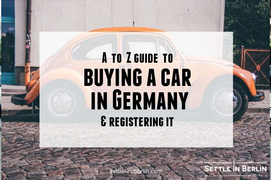 Buy car germany