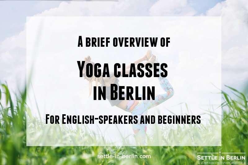Yoga classes in Berlin