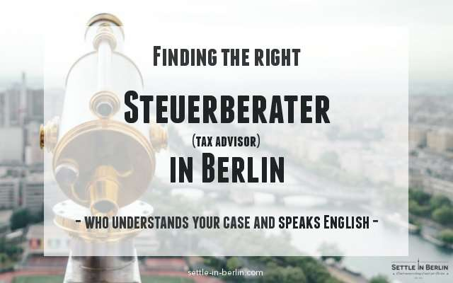 English-speaking Steuerberater Berlin