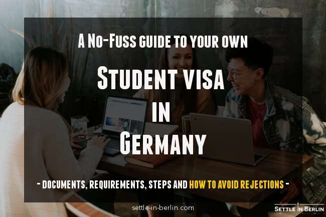 student visa Germany