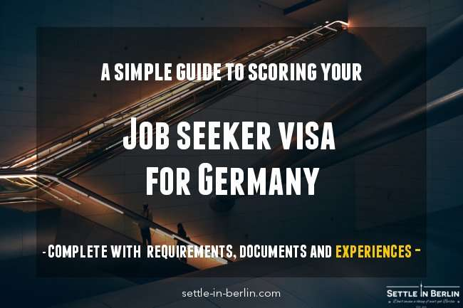 Germany job seeker visa application