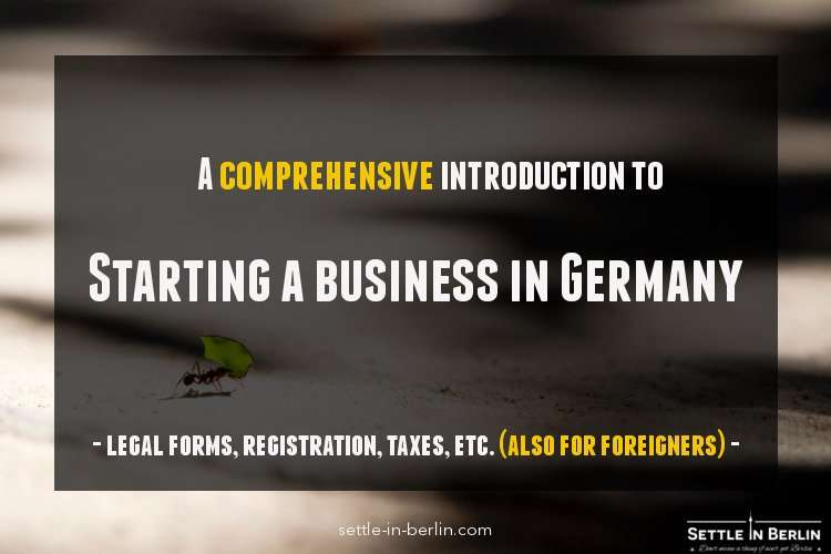Starting business in Germany