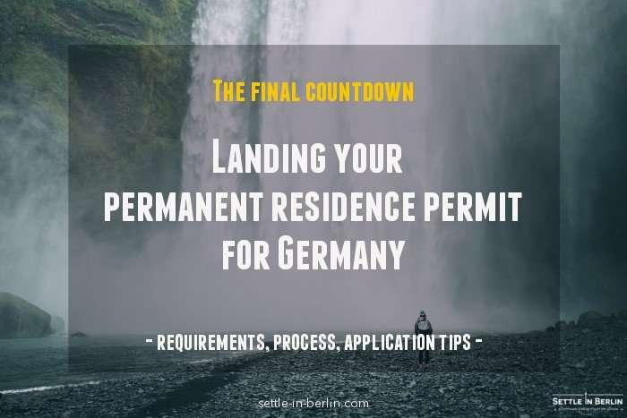 German Permanent residence permit