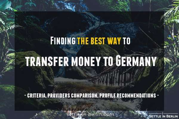 sending money to Germany guide