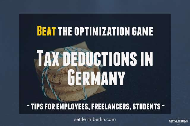 tax deductions Germany